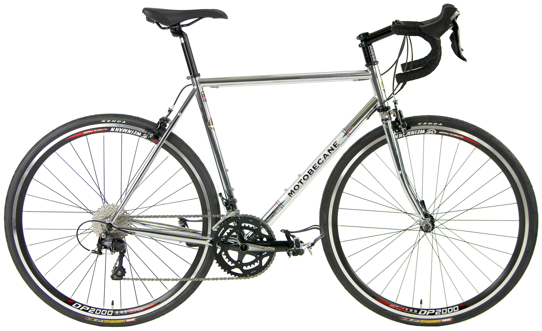 STRADA ltd. 2.0 CHROME     - CHROMOLY ROAD BIKE 2x11