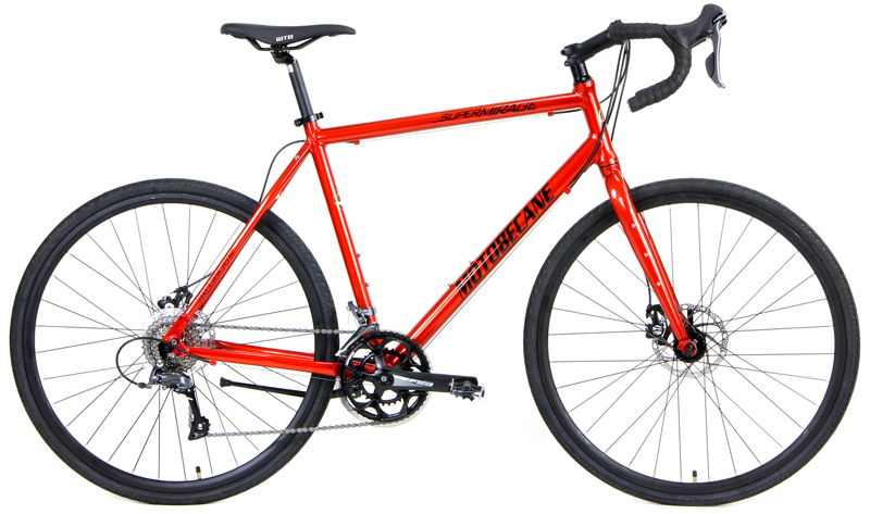 SUPER MIRAGE SL DISC - ALUMINUM ROAD BIKE w/ DISC BRAKES