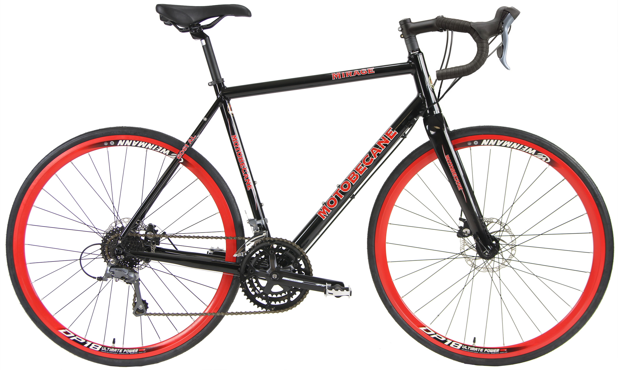 SUPER MIRAGE - ALLOY GRAVEL BIKE w/ DISC BRAKES
