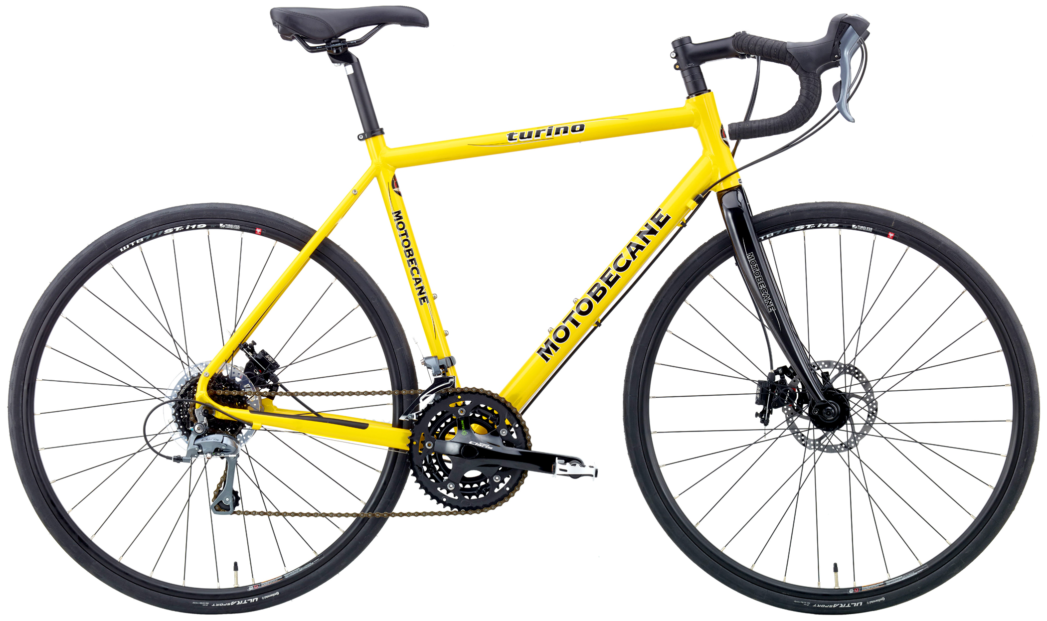 TURINO EXPERT DISC - ALUMINUM w/ HYDRAULIC DISC BRAKES, CARBON FORK