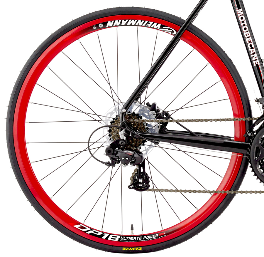 TURINO COMP DISC - SHIMANO, ALUMINUM w/ DISC BRAKES, CARBON FORK