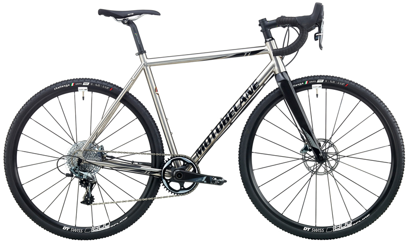 WHIPSHOT Ti FORCE CX1 - TITANIUM CYCLOCROSS w/ SRAM FORCE