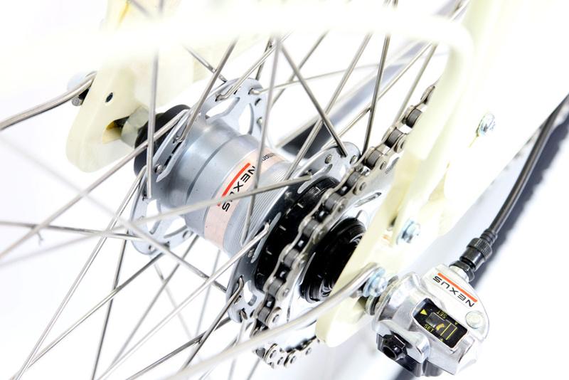 BISTRO 3V DELUXE  - ALUMINUM 3sp INTERNAL BIKE w/ FENDERS & RACK