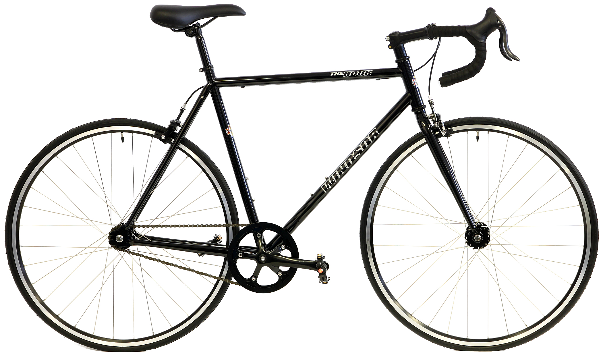 HOUR PLUS - 1sp CHROMOLY ROAD BIKE w/ FLIP/FLOP HUB