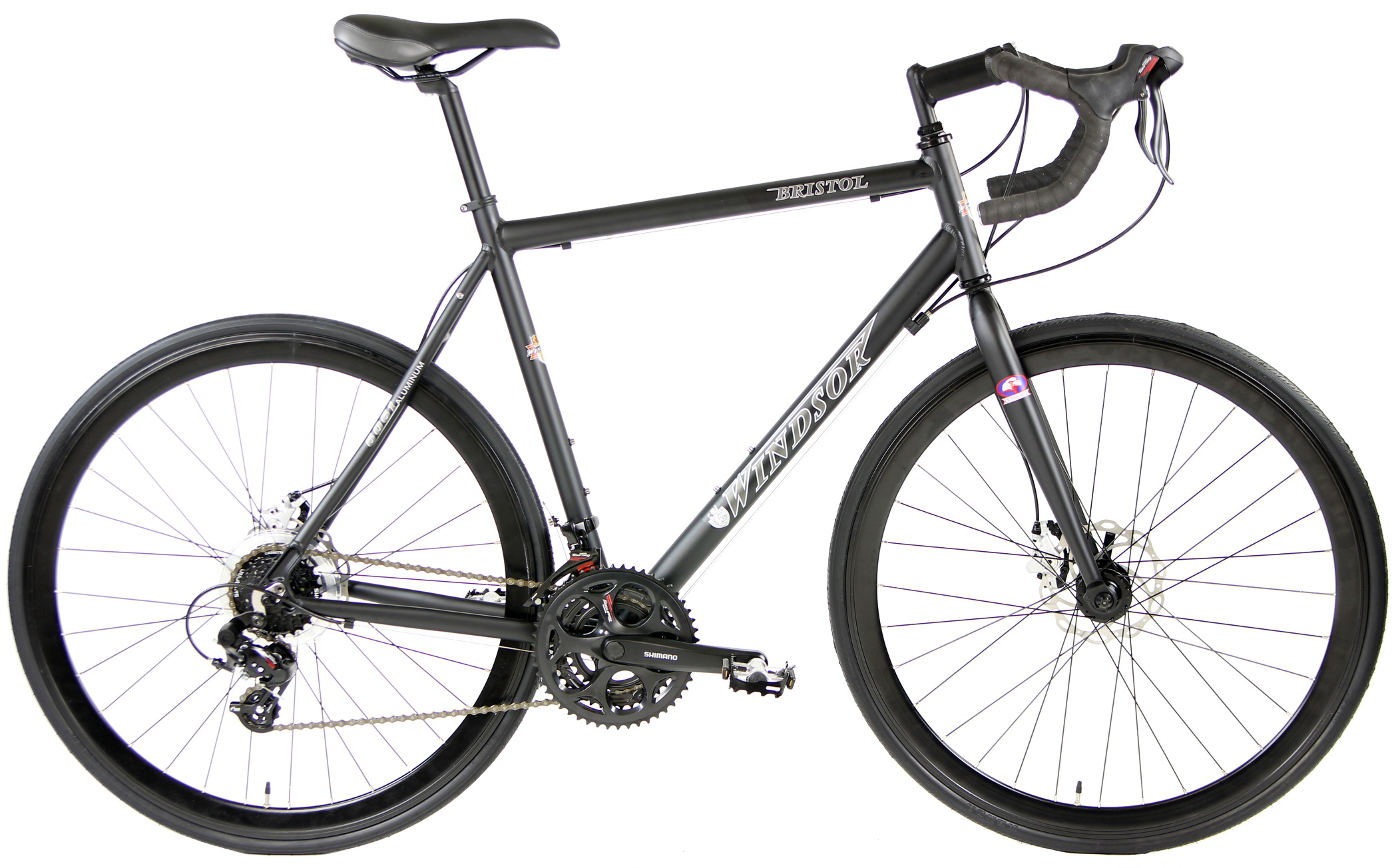 BRISTOL 3.0 DISC - LIGHTWEIGHT ALUMINUM ROAD BIKE w/ DISC BRAKES