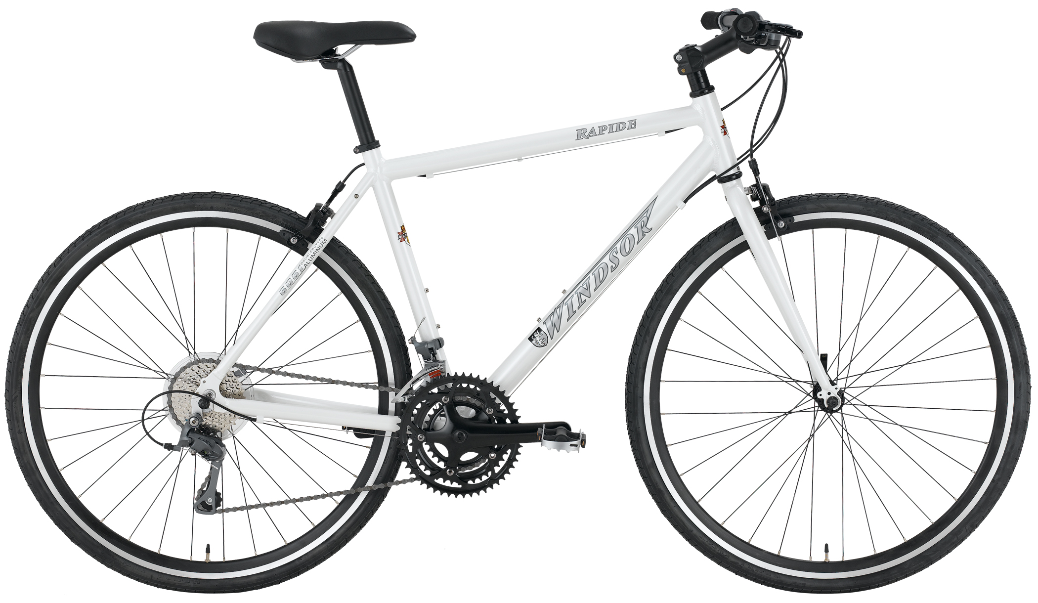 RAPIDE - SHIMANO ALUMINUM 24sp PERFORMANCE HYBRID