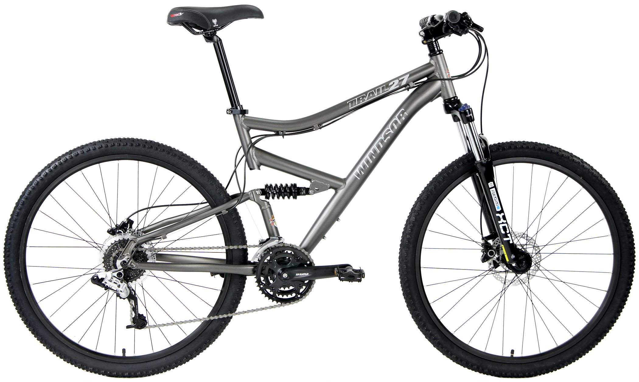 TRAIL 27 COMP - 27.5 FULL SUSPENSION w/ HYDRAULIC DISC BRAKES