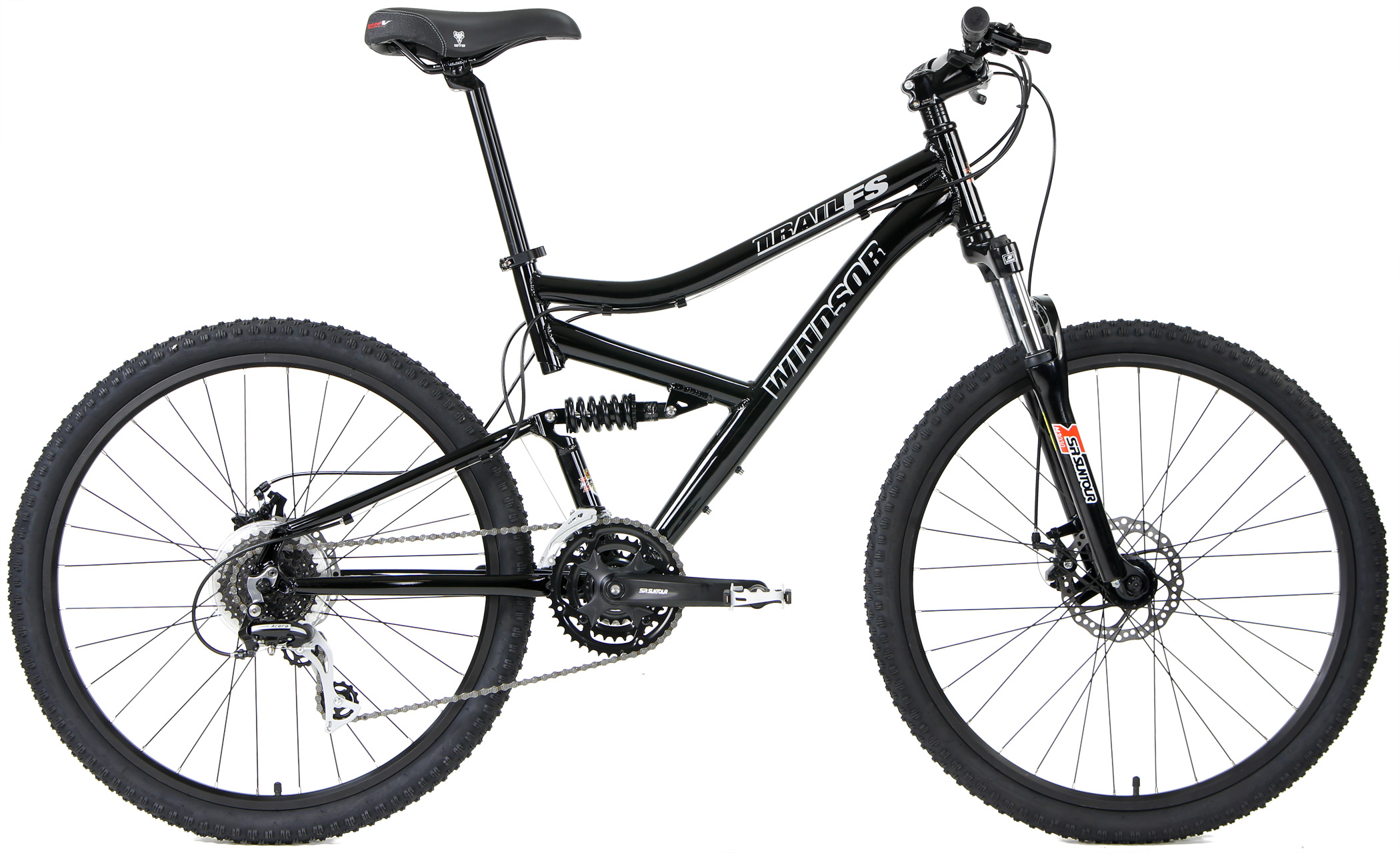 TRAIL FS - ALUMINUM FULL SUSPENSION w/ DISC BRAKES