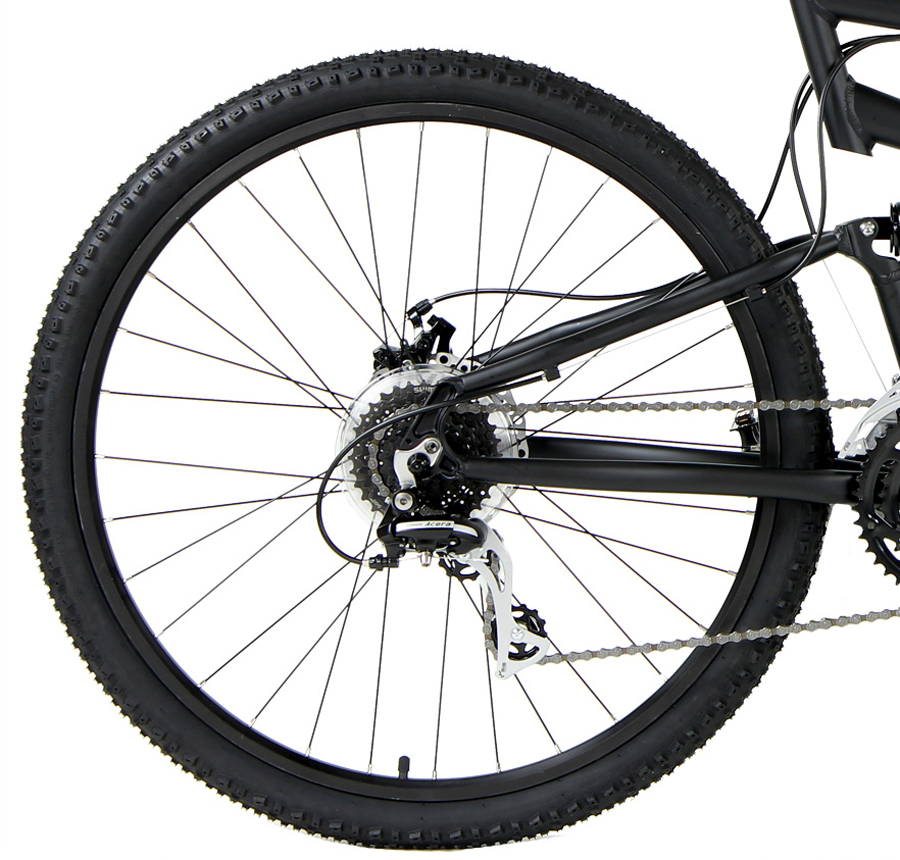 TRAIL 27 - ALUMINUM FULL SUSPENSION w/ 27.5in WHEELS