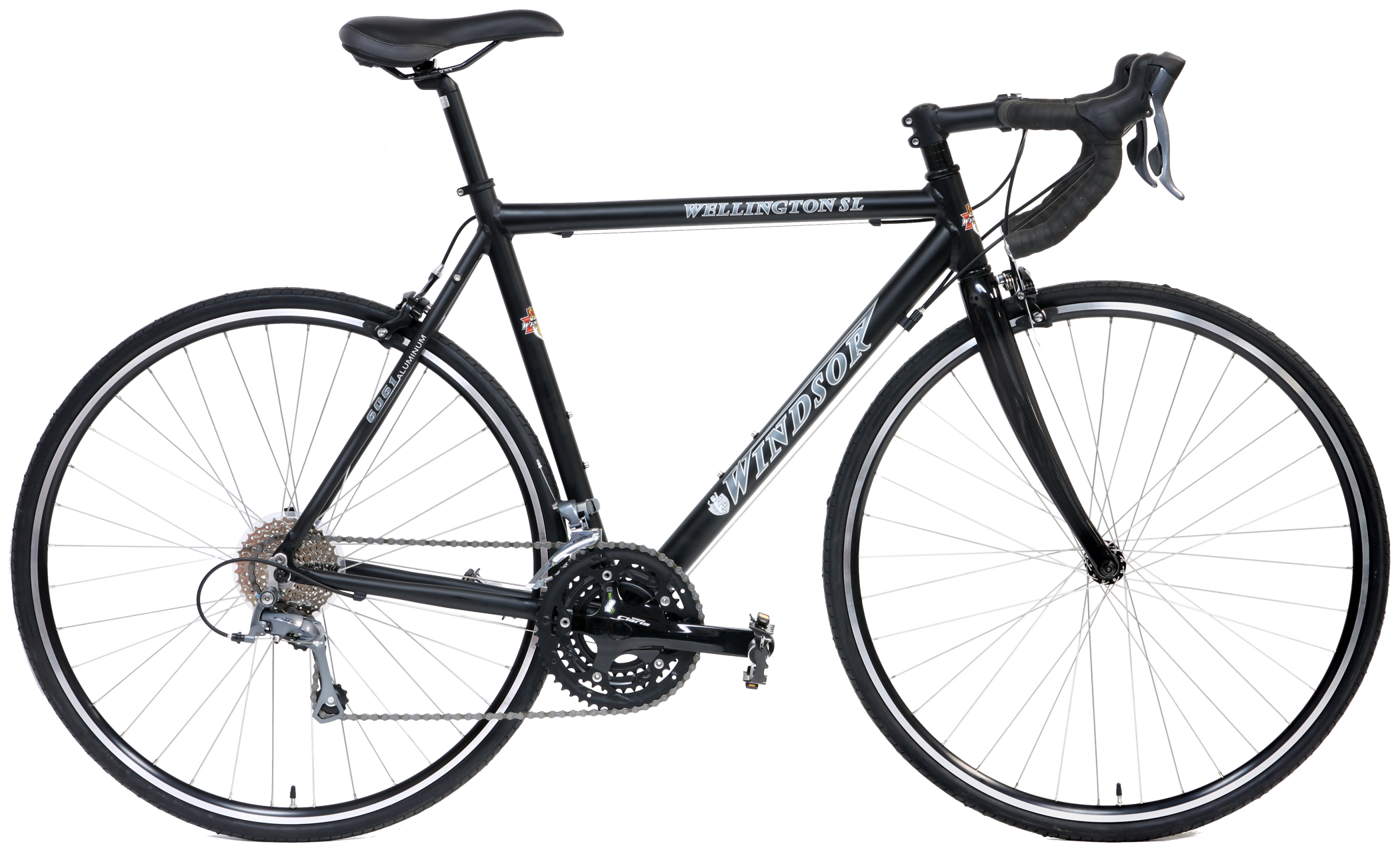 WELLINGTON SL - SHIMANO ALUMINUM 24sp ROAD BIKE w/ CARBON