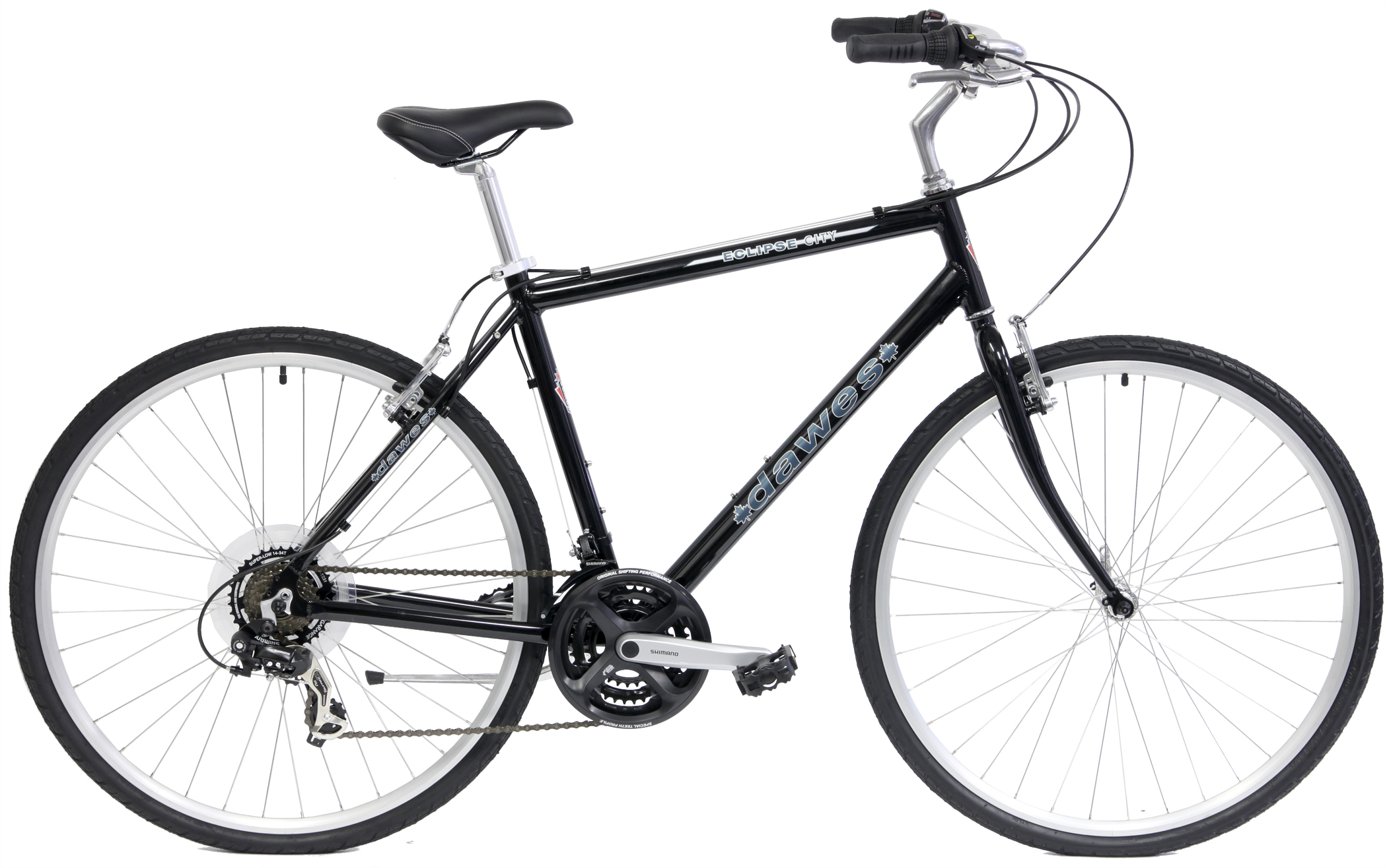 ECLIPSE CITY - 21sp ALUMINUM HYBRID w/ SHIMANO