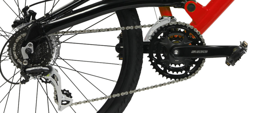 FSX 1.0 - FULL SUSPENSION ALUMINUM SHIMANO 24sp w/ DISC BRAKES