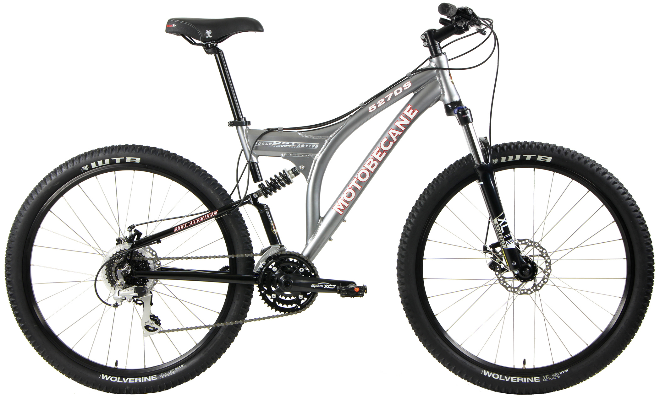 527DS - ALUMINUM FULL SUSPENSION w/ DISC BRAKES & SHIMANO