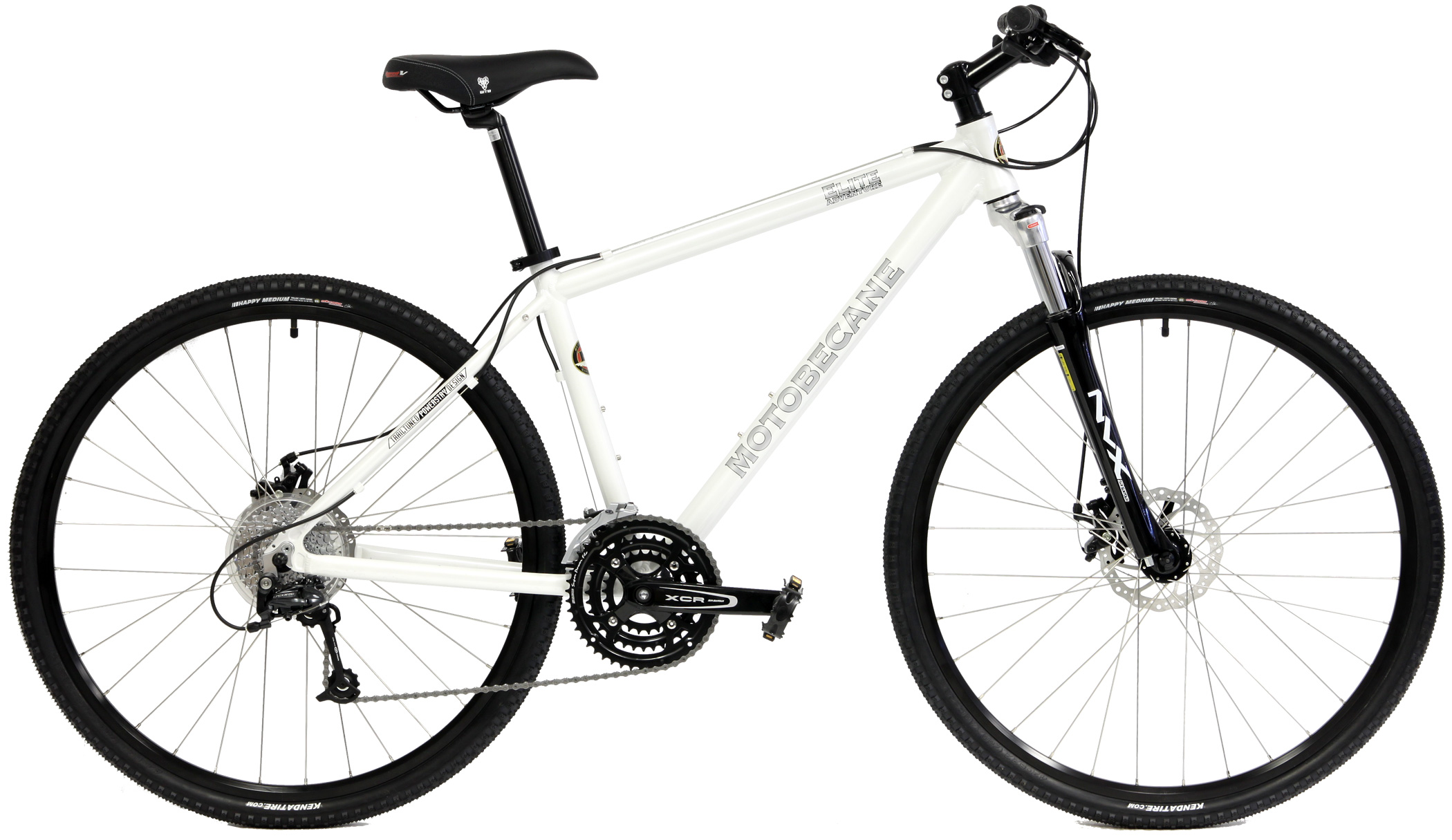 ELITE ADVENTURE - 27sp SHIMANO ALUMINUM ADVENTURE HYBRID