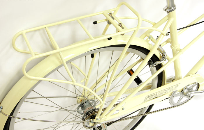 OXFORD DELUXE - WOMEN'S CHROMOLY 3sp w/ FENDERS & RACK
