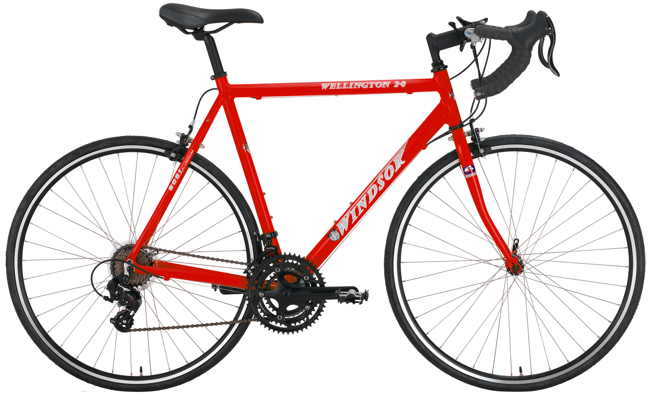 WELLINGTON 2.0     - SHIMANO 21sp ALUMINUM ROAD BIKE